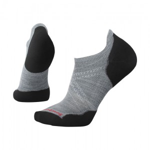 Sosete Smartwool Phd Run Light Elite Micro M Gri / Negru