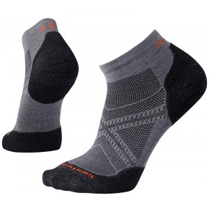 Sosete Smartwool Phd Run Light Elite Low Cut M Gri