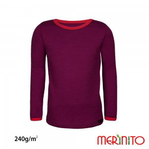 Bluza First Layer Merinito Merino + Bambus 240G K Mov