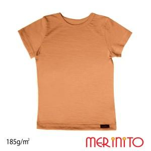 Tricou Copii Merinito 185G 100% Lana Merinos Bej