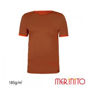Tricou First Layer Merinito 100% lana merinos 185G K Maro
