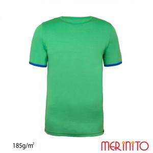 Tricou First Layer Merinito 100% lana merinos 185G K Verde
