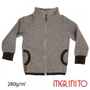 Geaca Merinito Merinos Soft Fleece K Gri