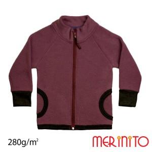 Bluza Copii Merinito Soft Fleece Lana Merinos Violet