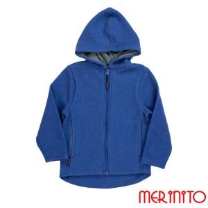 Hanorac Copii Merinito Lana Fiarta Merinos Albastru