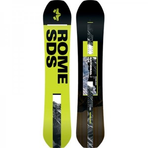 Placa Snowboard Unisex Rome National 156 Multicolor