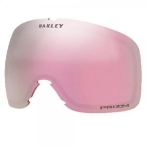 Lentila Ochelari Ski si Snowboard Oakley Flight Tracker XM Prizm Hi Pink Roz