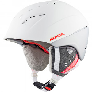 Casca Ski Alpina Spice white/flamingo matt
