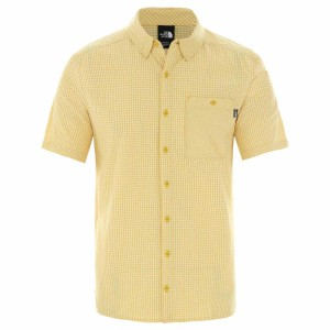 Camasa Drumetie Barbati The North Face M Short Sleeve Hypress Shirt-EU Bamboo Yellow (Galben)