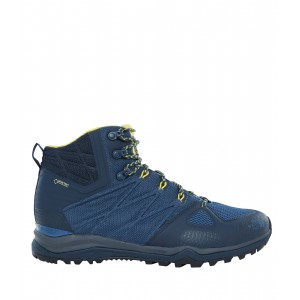 Incaltaminte Hiking The North Face Ultra Fastpack II Mid GTX M Albastru / Galben