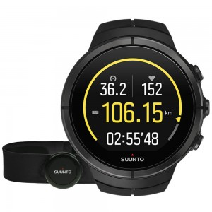 Ceas Multisport Suunto Spartan Ultra All Black Titanium HR Negru