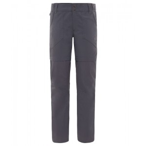 Pantaloni Femei Hiking The North Face Horizon Convertible Gri