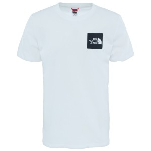 Tricou Drumetie Barbati The North Face M Short Sleeve Fine Tee-EU Tnf White/Tnf Black (Alb)