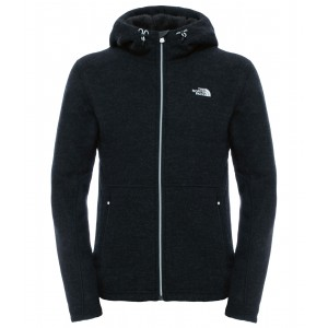 Hanorac Barbati The North Face Zermatt Full Zip Hoodie Negru