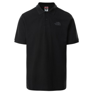 Tricou Polo Barbati The North Face Polo Piquet Negru