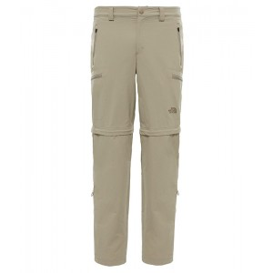 Pantaloni Barbati Hiking The North Face Exploration Convertible Bej