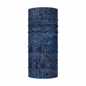 Neck Tube Unisex Buff Coolnet UV+ Junior Kasai Night Blue (Bleumarin)