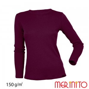 Bluza First Layer Merinito 100% lana merinos 150G W Mov