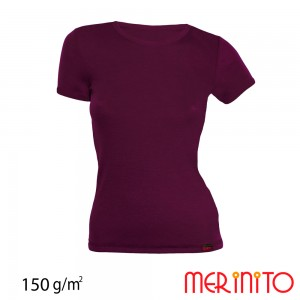 Tricou First Layer Merinito 100% lana merinos 150G W Mov