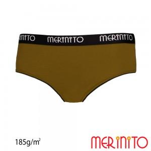 Lenjerie Merinito Hipster Briefs 100% lana merinos 185G W Verde