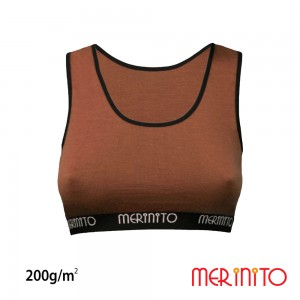 Bustiera Merinito 100% Merinos 200g W Maro