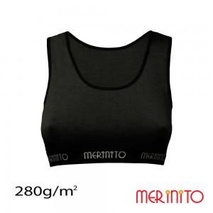 Bustiera Merinito 100% Merinos 280g W Negru