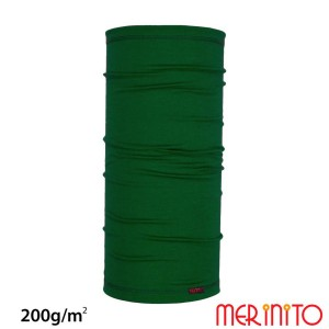 Neck Tube Unisex Merinito 200G Lana Merinos Verde