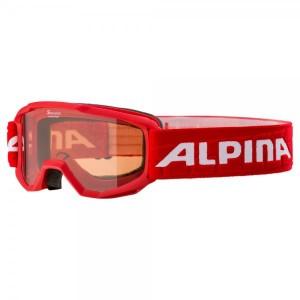 Ochelari Ski Si Snowboard Copii Alpina Piney SH Red Rosu