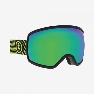 Ochelari Ski si Snowboard Electric EGG Volt Stripe / Brose Green Chrome