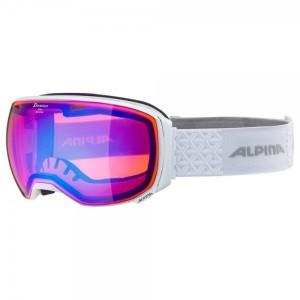 Ochelari Ski Si Snowboard Unisex Alpina Big Horn HM White/Blue Sapphire Alb