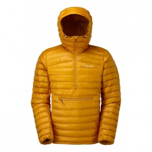 Geaca Down Montane Featherlite Pro Pull On M Auriu