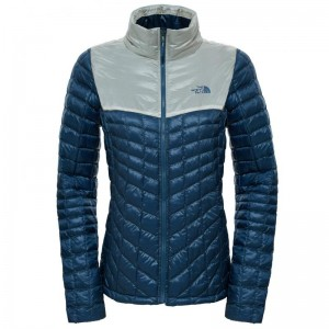 Geaca The North Face W Thermoball Full Zip Verde Albastra/Alba