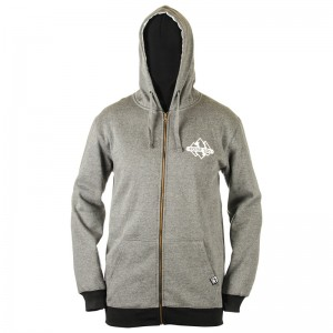 Hanorac Rome Mountain Zip-UP Gri