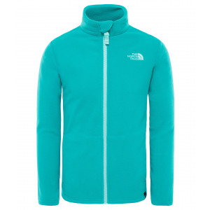 Polar Copii The North Face Snow Quest Full Zip Turcoaz