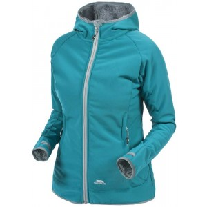 Geaca Softshell Femei Hiking Trespass Imani Turcoaz