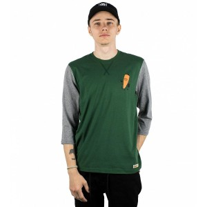Tricou Barbati Element 4 SS Verde / Gri