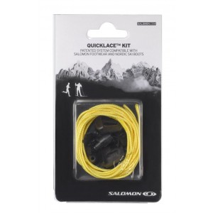 Sireturi Salomon Quicklace Kit Galben