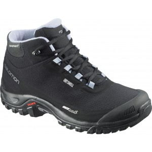 Incaltaminte Hiking Salomon Shelter CS WP W Negru