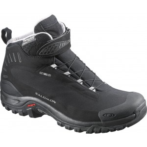 Incaltaminte Hiking Salomon Deemax 3 Thinsulate WP W Negru