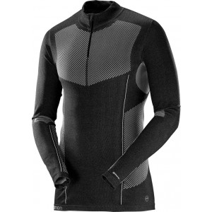 Bluza First Layer Salomon Primo Warm LS HZ M Negru