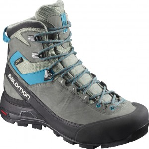 Incaltaminte Hiking Salomon X Alp Mtn GTX W Gri