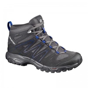 Incaltaminte Hiking Salomon Campside Mid 5 GTX M Gri