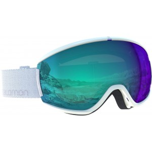 Ochelari Schi si Snowboard Salomon Ivy Photo White / All Weather Blue