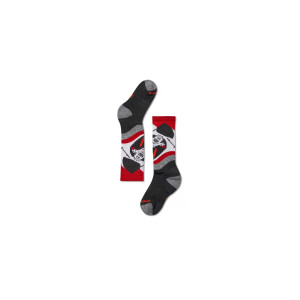 Sosete Ski Copii Smartwool Wintersport Yo Yetti Charcoal (Multicolor)