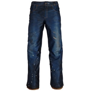 Pantaloni Snowboard Barbati 686 Deconstructd Denim Ins Denim