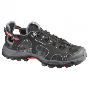 Incaltaminte hiking Salomon Techamphibian 3 W Neagra/Rosie