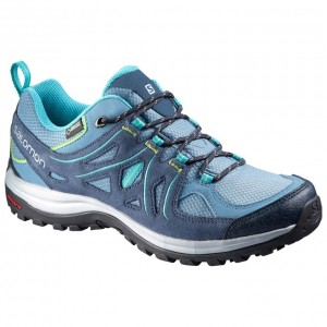 Incaltaminte hiking Salomon Ellipse 2 GTX W Gri/Albastra