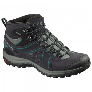 Incaltaminte Hiking Salomon Ellipse 2 Mid Ltr GTX W Mov Inchis