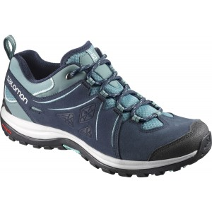 Incaltaminte Hiking Salomon Ellipse 2 Ltr W Bleumarin / Turcoaz