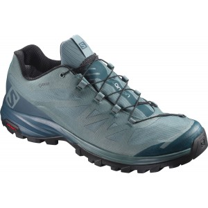 Incaltaminte Hiking Salomon Outpath GTX M Bleu-Gri